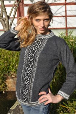 Pull-over gringa gris