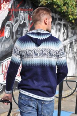 Pull homme Chaski en laine d'alpaga