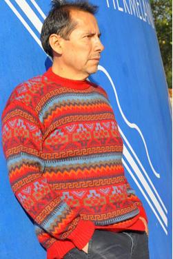 Pull Chaski en laine d'alpaga