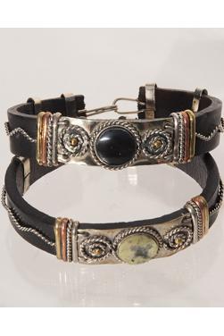 Lot de deux bracelets