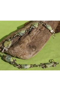 Bracelet raymi pierre serpentine