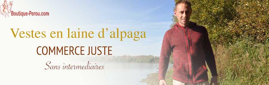 En Produits Alpaga Et Péruviens Pérou Artisanat Boutique Vestes Eqwpg1v
